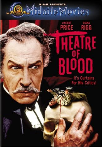 Theater of Blood 1973 DVD Region 1