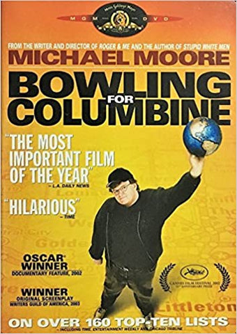 Bowling for Columbine DVD Region 1