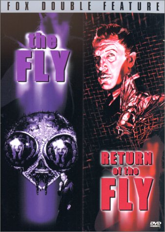 The Fly (1958)/Return of the Fly (1959) DVD Region 1