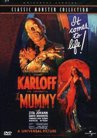 Mummy DVD Region 1