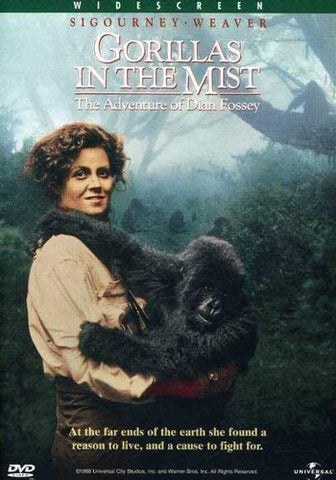 Gorillas in the Mist DVD Region 1