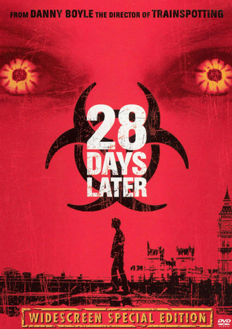 28 Days Later DVD Region 1