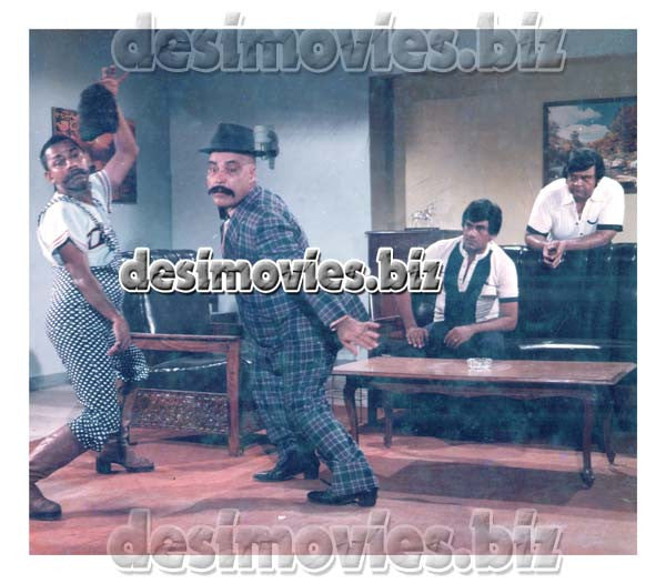 Ishq Pecha (1984) Lollywood Lobby Card Stil 4