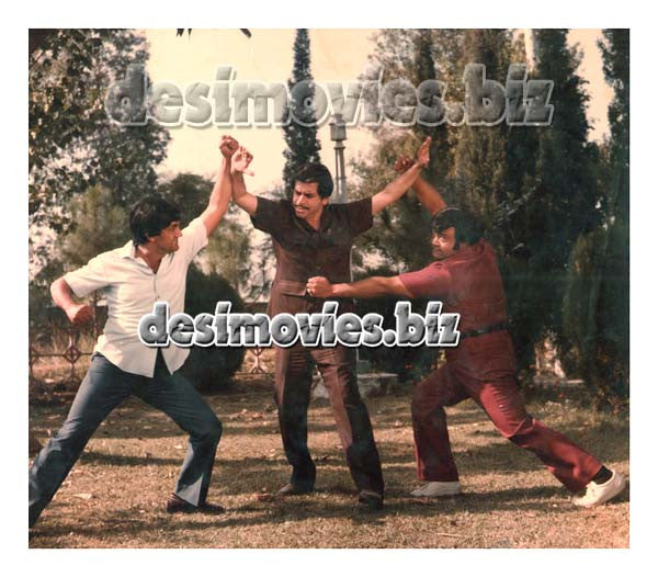 Ishq Pecha (1984) Lollywood Lobby Card Stil 6