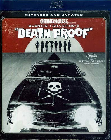 Death Proof (Extended and Unrated Edition) [Blu-ray] Region 1