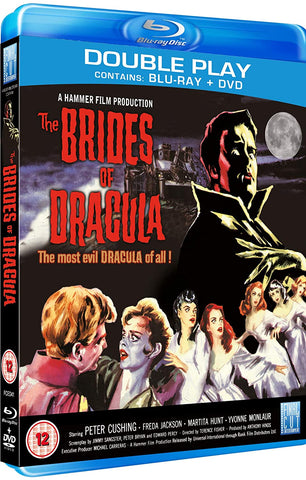 Brides of Dracula, The (1960) Blu-ray/DVD Combo - Region 2