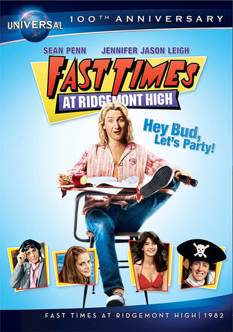Fast Times at Ridgemont High DVD Region 1