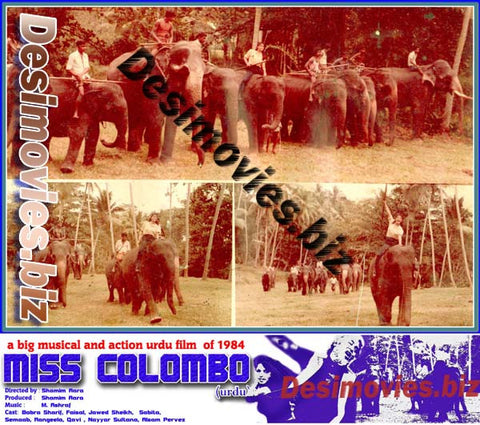 Miss Colombo  (1984)  Lollywood Lobby Card Still 7