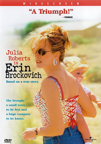 Erin Brockovich DVD Region 1