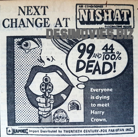 99 and 44/100% Dead (1977) Press Advert 1977