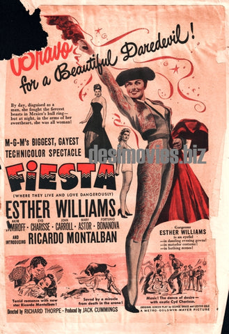 Fiesta (1947) Press Ad