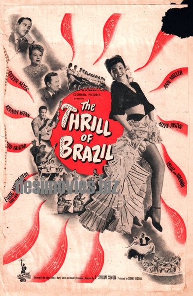 Thrill of Brazil, The (1946) Press Ad