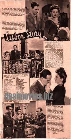 Lisbon Story (1946) Press Advert