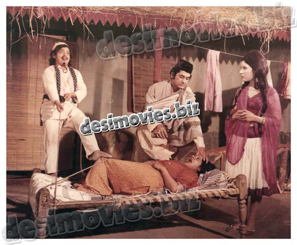 ALLAH Meri Tauba (1974) Lollywood Lobby Card Still