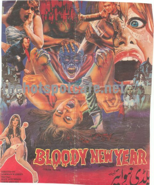Bloody New Year  (1987) Half Sheet (Pakistani) Original Poster