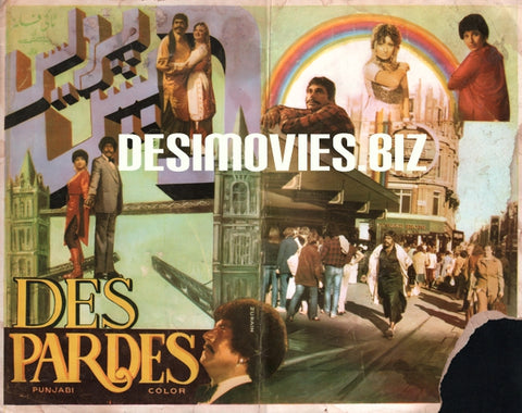 Des Pardes (1983)  Original Booklet
