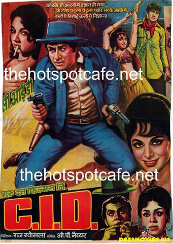C.I.D. (1956) Original Poster & Song Booklet in Urdu
