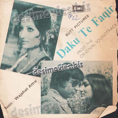 Daku Te Faqeer  (1970+Unreleased) - 45 Cover