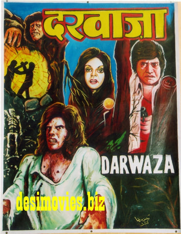 Darwaza (1980) Hand Painted Poster