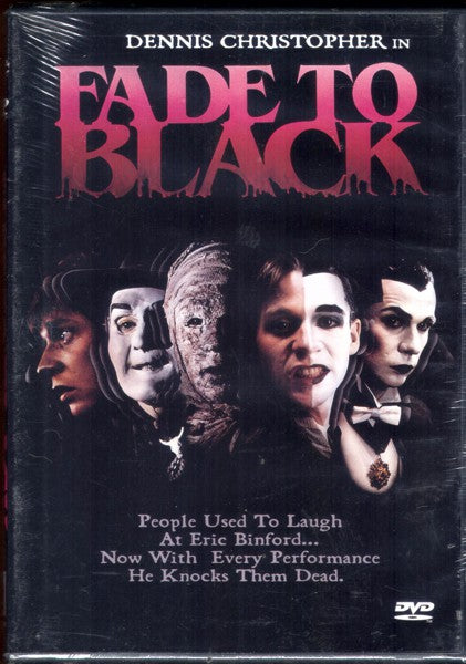 Fade to Black (1980) - DVD Region 1.