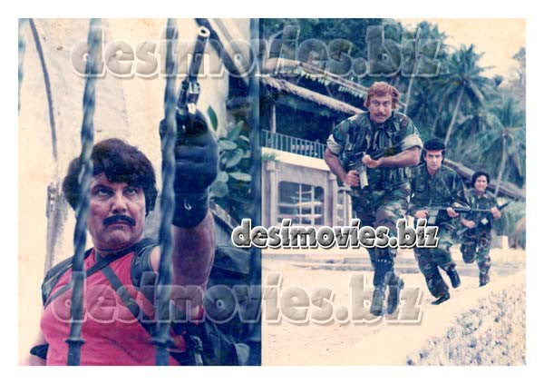Manila Ke Janbaaz (1989) Lollywood Lobby Card Still