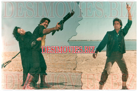 Choron Ka Badshah (1988) Lollywood Lobby Card Still 2