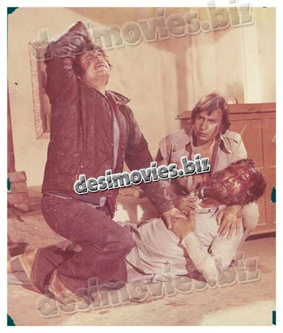 Inteqam key Sholey (1976) Lollywood Lobby Card Still