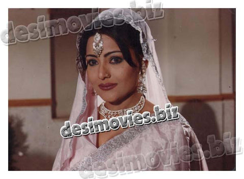 Nadia Urdu, Punjabi, Pashto filmstar (1990-2000) Lollywood Lobby Card Still
