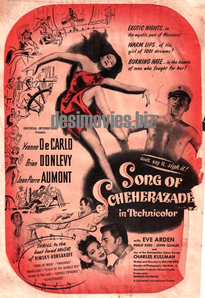 Song of Scheherazade (1947) Press Advert