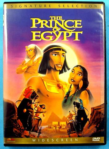 The Prince of Egypt DVD Region 1