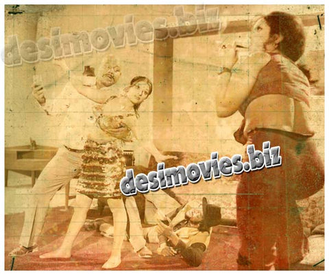Shokan Melay Dee (1975)  Lollywood Lobby Card Still 1