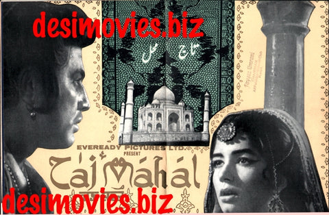 Taj Mahal (1969) Lollywood Original Booklet