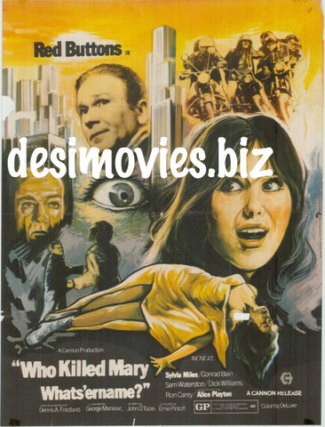Who Killed Mary Whats 'er Name (1971)