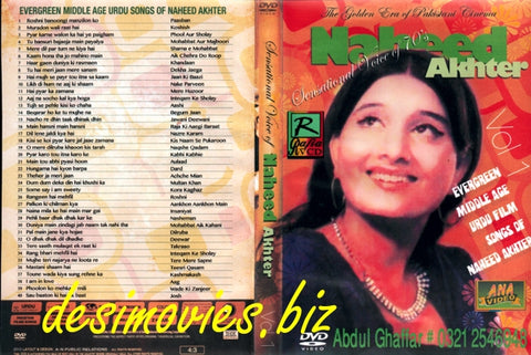 Naheed Akhtar Collection -  Mp4 (640 x 480) 40 songs