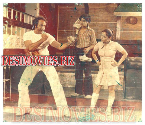 Aag (1979) Lollywood Lobby Card Still 2