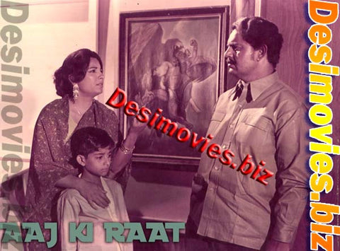 AAJ KI RAAT (1983) Lobby Card Still B