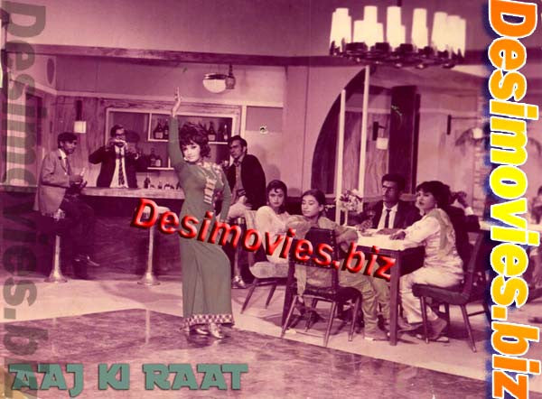AAJ KI RAAT (1983) Lobby Card Still A
