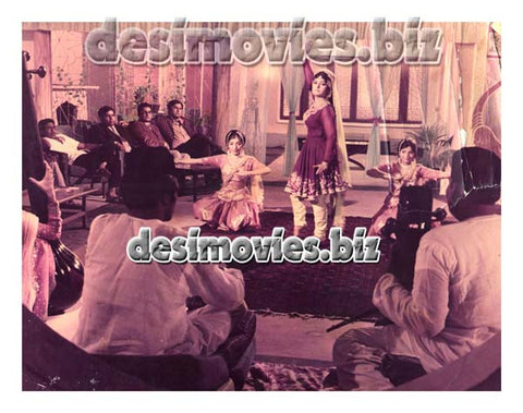 Aaj Ki Raat (1983) Lollywood Lobby Card Still C