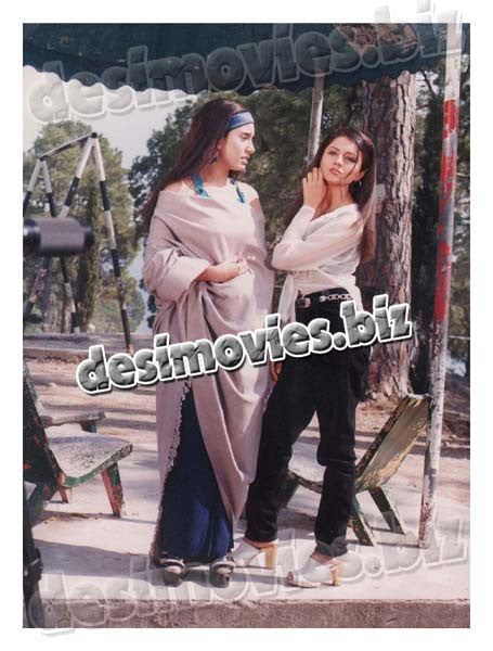 Aik Aur Love Story (1999) Lollywood Lobby Card Still 7