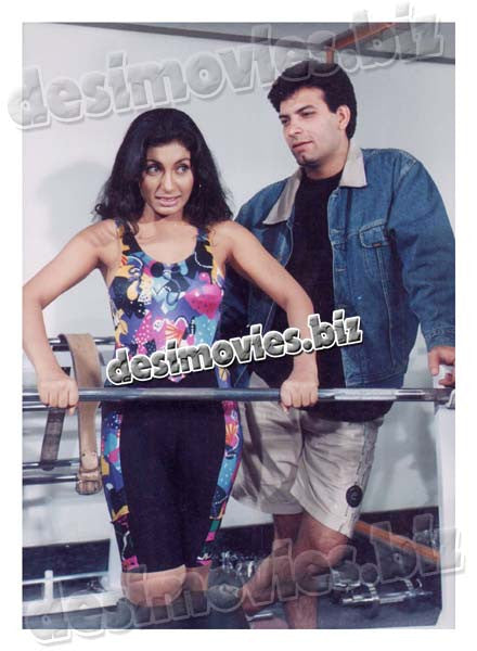 Aik Aur Love Story (1999) Lollywood Lobby Card Still 10