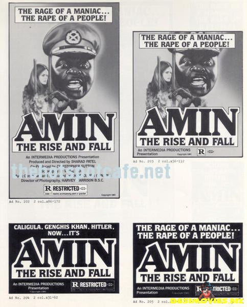 Amin; The Rise and Fall (1979) - Press Kit Pics