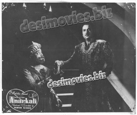 Anarkali (1958) Lobby Card Still F