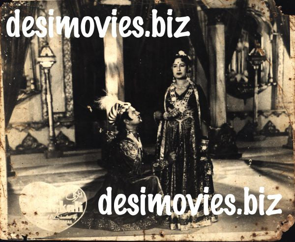 Anarkali (1958) Lobby Card Still D