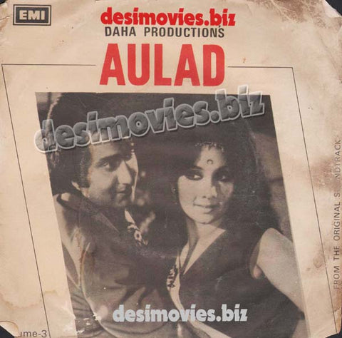 Aulad (1976)  - 45 Cover