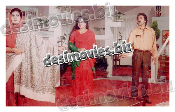 Badmash Thug (1991)  Lollywood Lobby Card Still 8