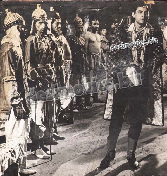 Baghi Sardar (1966) Lollywood Lobby Card Still 1