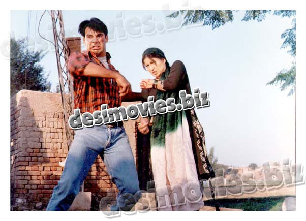 Bali Jutti (2000) Lollywood Lobby Card Still