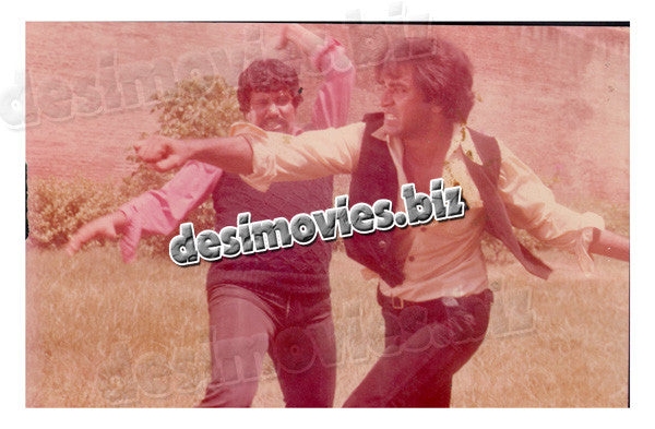 Bara Bhai (1982)  Lollywood Lobby Card Still 12