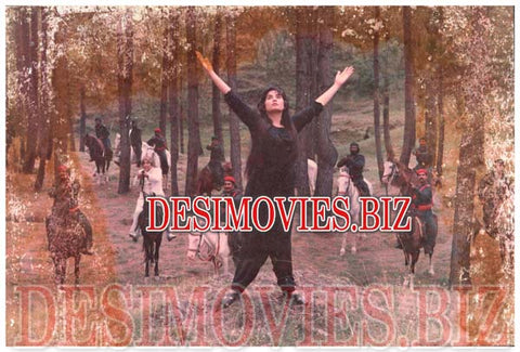 Bhabi Diyan Choorian (1986)  Lollywood Lobby Card Still 2