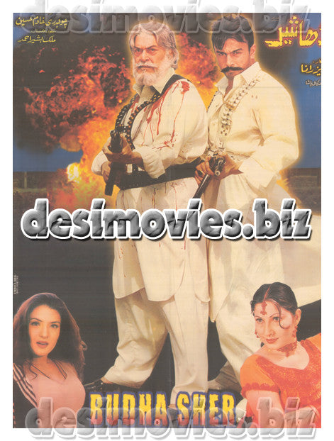 Buddha Sher (2002) Lollywood Original Poster